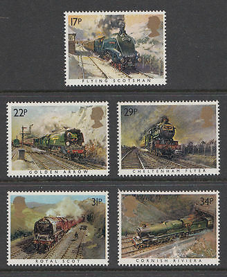 GB MNH STAMP SET 1985 Famous Trains SG 1272-1276 10% OFF FOR ANY 5+