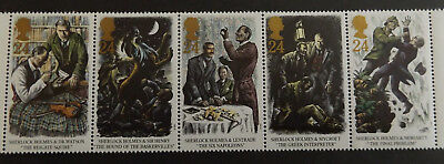 GB MNH STAMP SET 1993 Sherlock Holmes SG 1784-1788 10% OFF FOR ANY 5+
