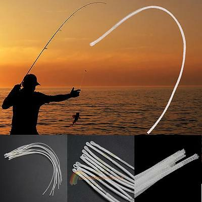 10pcs Fly Fishing Braided Loop Leader Connector 30LB 18cm Line Tackle Box Tool