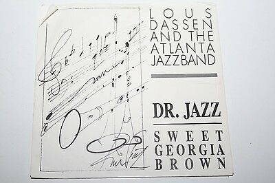 "Lou Dassen And The Atlanta Jazzband - Dr. Jazz Stomp - 7""  Privatpressung"