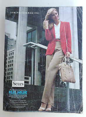 1982 Catalog Sears Spring and Summer Vintage Dealer Reference Tool