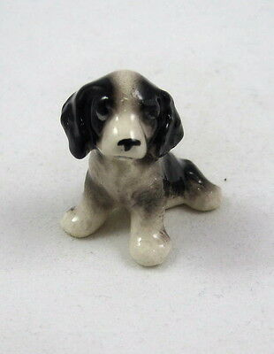 Hagen Renaker miniature made in America dog Springer Spaniel Puppy