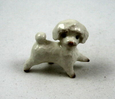 Hagen Renaker miniature made in America dog Toy Poodle