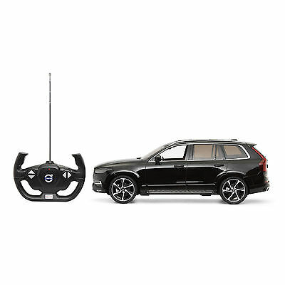 Genuine Volvo XC90 New Shape Remote Control Car with Lights Scale 1:14 Black