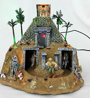 Lemax Spooky Town Haunted Pyramid Animated & Musical Halloween Display # 84770