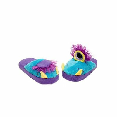 Stompeez Fun Kids Slippers For Children  One Eyed Monster Sizes S Uk 11,5-12