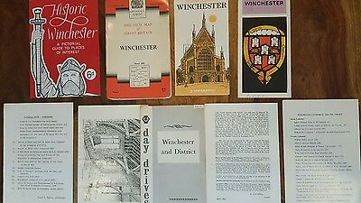 Vintage 1969 winchester cathedral memorabilia and map