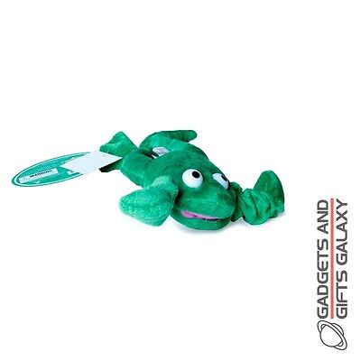 ELASTICATED PLUSH FLYING CATAPULT FROG OUTDOOR FUN Kids childs toys and games