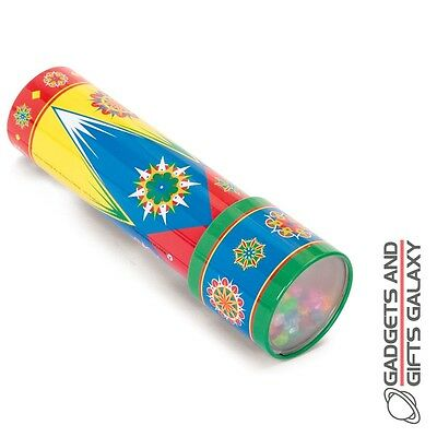CLASSIC TIN KALEIDOSCOPE OPTICAL ILLUSION TOY novelty gift child stocking filler