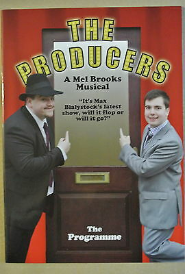 Programme. The Producers A Mel Brooks Musical. Blackpool 2009. Signed by 9.