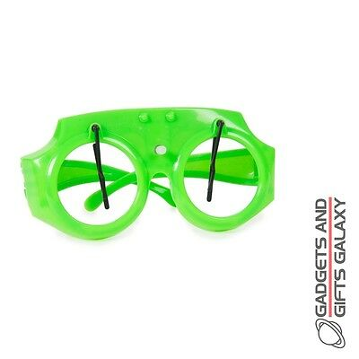 WIND UP WACKY WIPERS FUNNY GLASSES HALLOWEEN fancy dress costume accessory