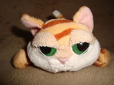 """Russ Lil Peepers Cat Chilie 4"""" long x 2.5"""" tall Plush & Beans"""