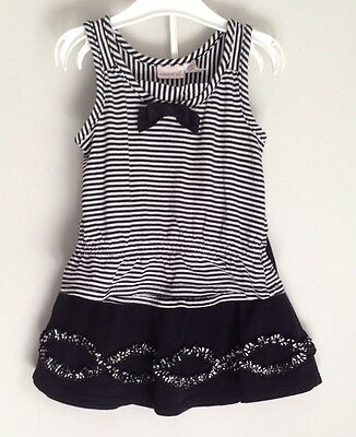 Maggie & Zoe Toddler Girls Skirt & Top outfit black & white Size 2T 18-24 Months