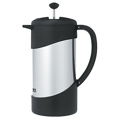 Thermos 34 Ounce Vacuum Insulated Stainless Steel Gourmet Coffee Press