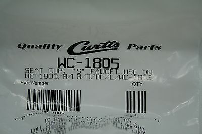 """Wilbur Curtis Seat Cup """"S"""" Faucet WC-1805 FREE SHIP"""
