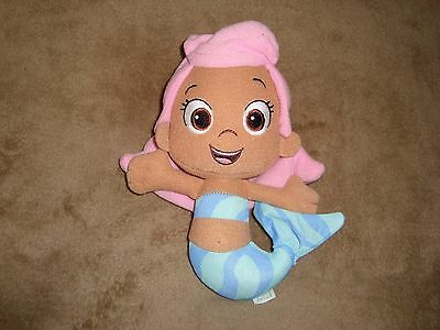 "Bubble Guppies Molly Mermaid Fisher Price 2012 Mattel 8""Tall"