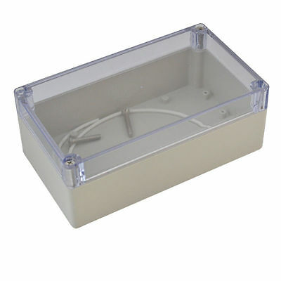 160x110x90mm Waterproof Clear Top Plastic Electronic Project Box Enclosure