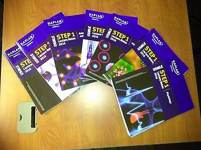 KAPLAN USMLE STEP 1 books lecture notes 2016