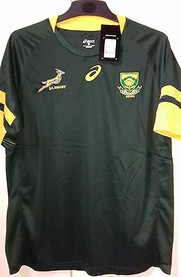 South Africa Springboks Rugby Mens Home Jersey 2016 Size S-3XL