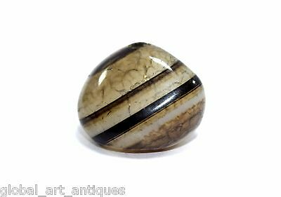 Islamic rarest Antique Beautiful Fine Quality Natural Agate Bead. G52-5