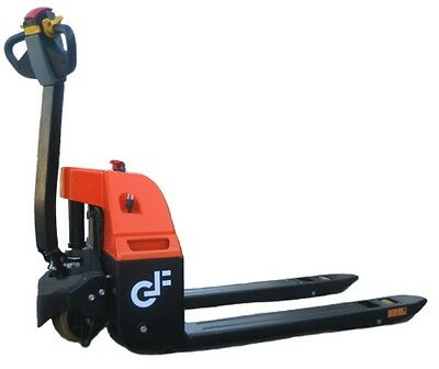 GF30 Electric Pallet Jack: 3000 Lbs Capacity, Standard Fork Size with Safety Rev