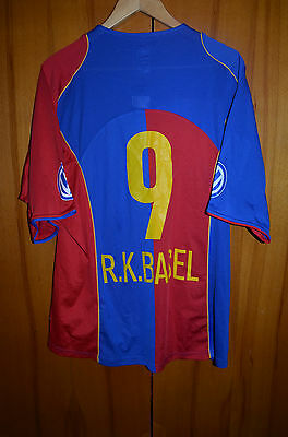 Basel Switzerland 2004/2005 Home Football Shirt Jersey Maglia Nike #9