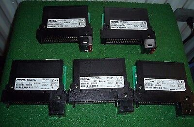 1756-IA16I/A *LOT OF 5*  16PT Isolated Input Module ControlLogix Allen Bradley