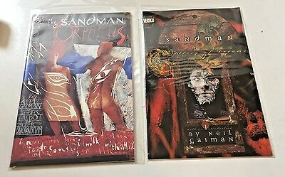 4 Sandman Comics Orpheus Pumpkinhead Agent Gallery Dream Endless Vertigo/DC NM
