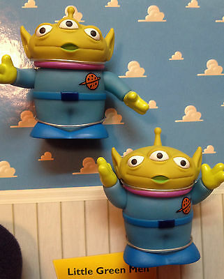 Toy Story Little Green Men Action Figures Toys Moving Arms Cake Toppers