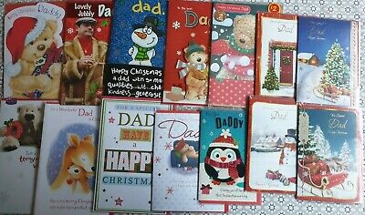 Christmas Cards large post Dad Daddy
