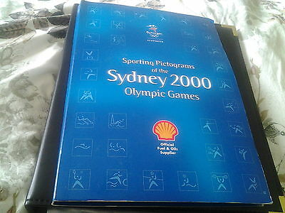 Set 28 Shell Sydney 2000 Olympic Sporting Pictogram Medals