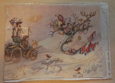 C1990 Nottingham Forest  Rare Vip Christmas Card Issued By The Football Club