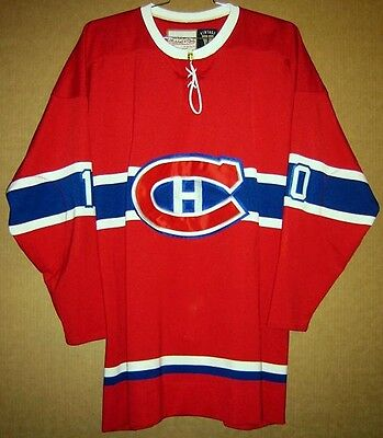 MONTREAL CANADIANS GUY LaFLEUR MITCHELL & NESS NHL JERSEY