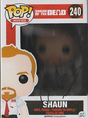 *signed*  Simon Pegg - 'shaun' Funko Pop (Shaun Of The Dead)  Autographed