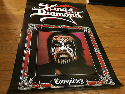 King Diamond - Conspiracy:Album Cover Artwork 24x36 Color Poster_new/unused