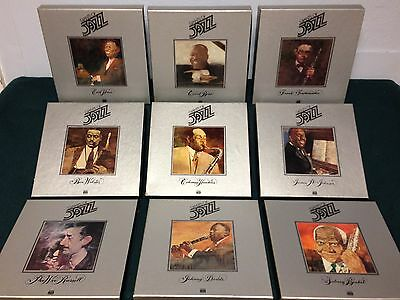 9 Unopened Boxed Time-Life Giants Of Jazz  8-Track Cassettes, Booklets & Pics
