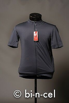 Bnwt Specialized Carbon Heather Rbx Pro Uv50+ Cycling Jersey Medium Msrp $150.00