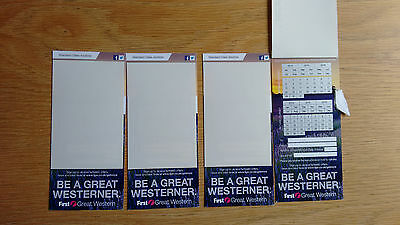 First Great Western Standard Class Return Anytime Train Passes