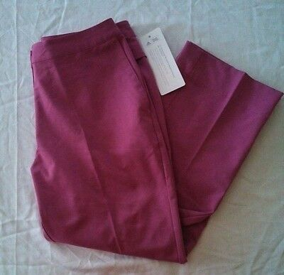 NEW Womens Adidas Cimacool Golf Pants Size 2 STRETCH golfing NWT