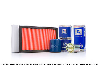 Mazda MX5 NA 1.8 Service Pack Kit Oil(x2), Air Fuel Filter