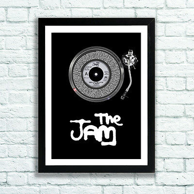 The Jam Print Down In The Tube Station At Midnight Paul Weller Bruce Foxton MOD