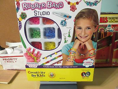 RUBBER BAND STUDIO Creativity for Kids Faber Castell play set NEW