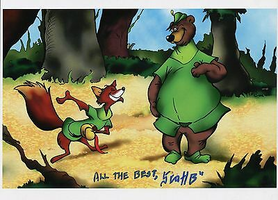 Robin Hood & Little John Fun Cool Signed 8.5x11 Tribute Print With COA