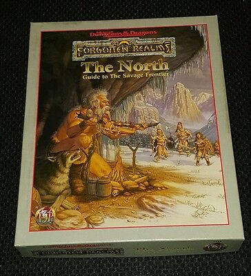 Dungeons & Dragons Forgotten Realms The North Boxed Set/Complete!!