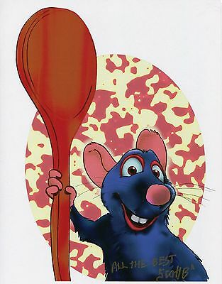 Ratatouille Fun Signed Tribute 8.5x11 Color Print With COA
