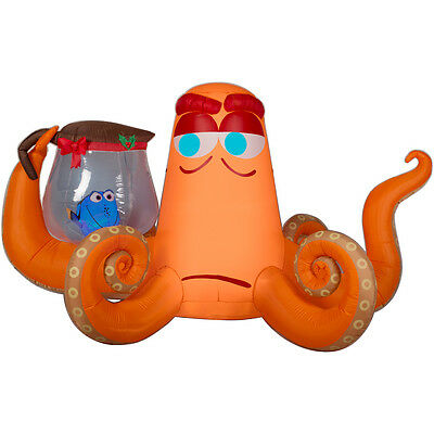 8.5 Ft Finding Dory & Hank The Octopus Airblown Lighted Yard Inflatable