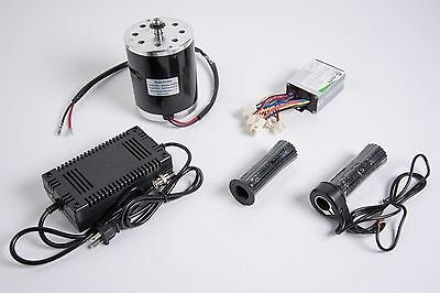 500W 36 V electric 1020 motor kit w speed control Throttle & charger f scooter