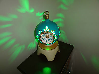 Vintage Christmas Ornament Style motion lamp - Rotating - 1960s / 1970s
