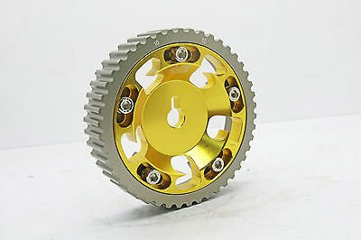 DD Racing Gold Cam Gear Pulley For Mitsubishi Lancer Mirage CA2A CB2A 4G15 SOHC