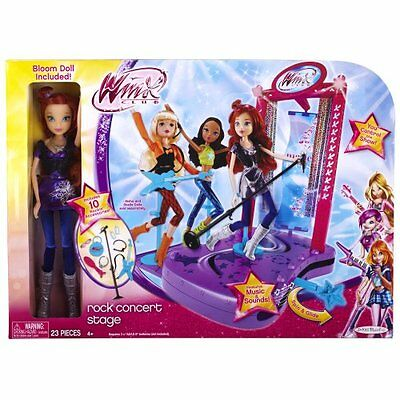 Winx Club Concert Stage With Doll